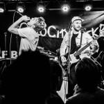 Neste gjeng ut er det nyoppstartede bandet OsloCityFuckBoy som spiller pop-rock på norsk.